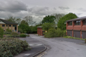 Thanks to Google Maps, we can just about see IDG's old home near Macclesfield