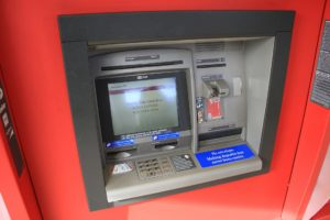 An ATM, similar to the one that made me depressed every week in 1997
